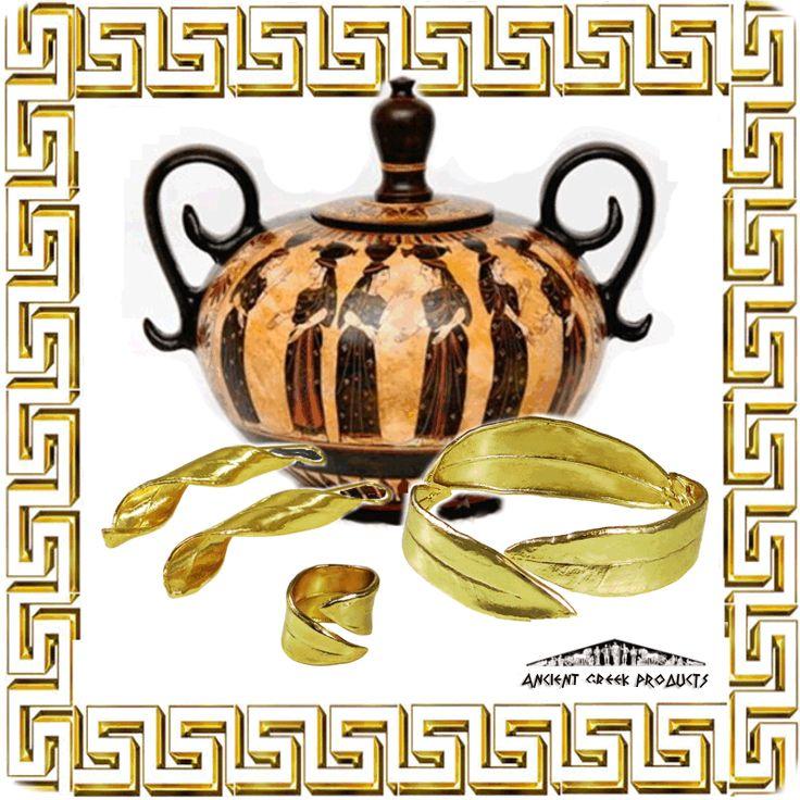 Gift packs – Attican black-figured column jewelry box 15 cm