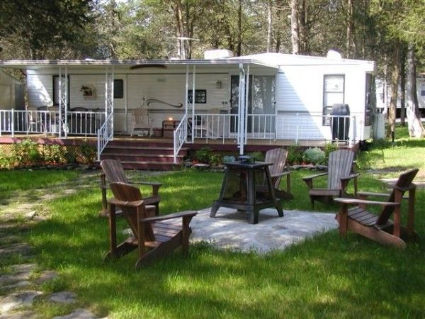 Best rv porches google search travel trailer porches for Portico anteriore a trave aperta