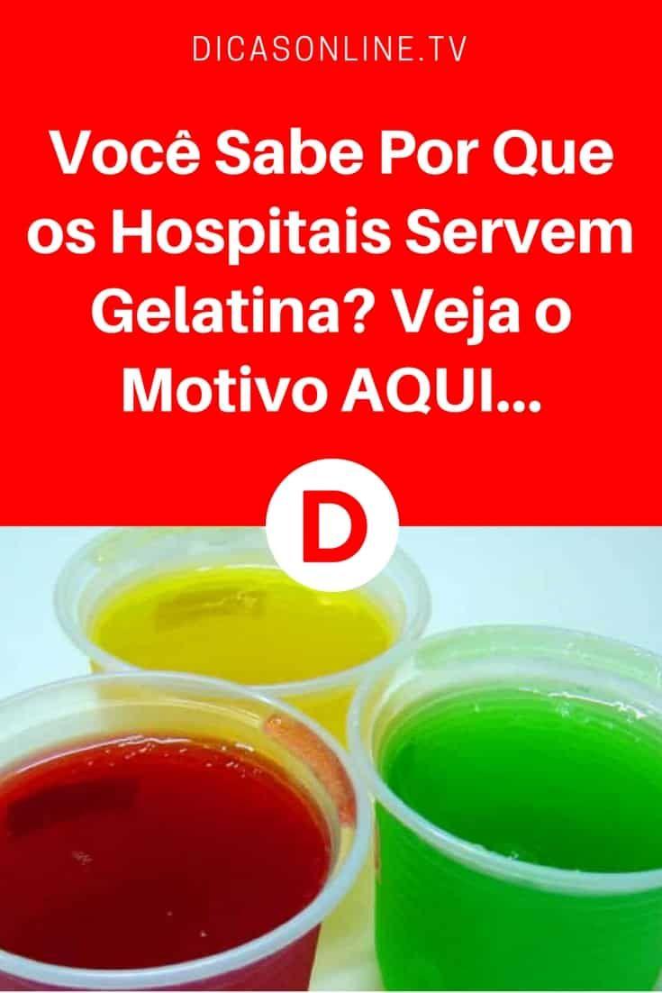 Beneficios gelatina | Você Sabe Por Que os Hospitais Servem Gelatina? Veja o Motivo AQUI... | É mesmo impressionante!!!