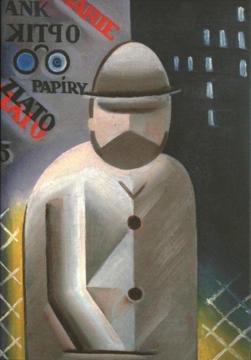 Josef Čapek: Muž s plnovousem