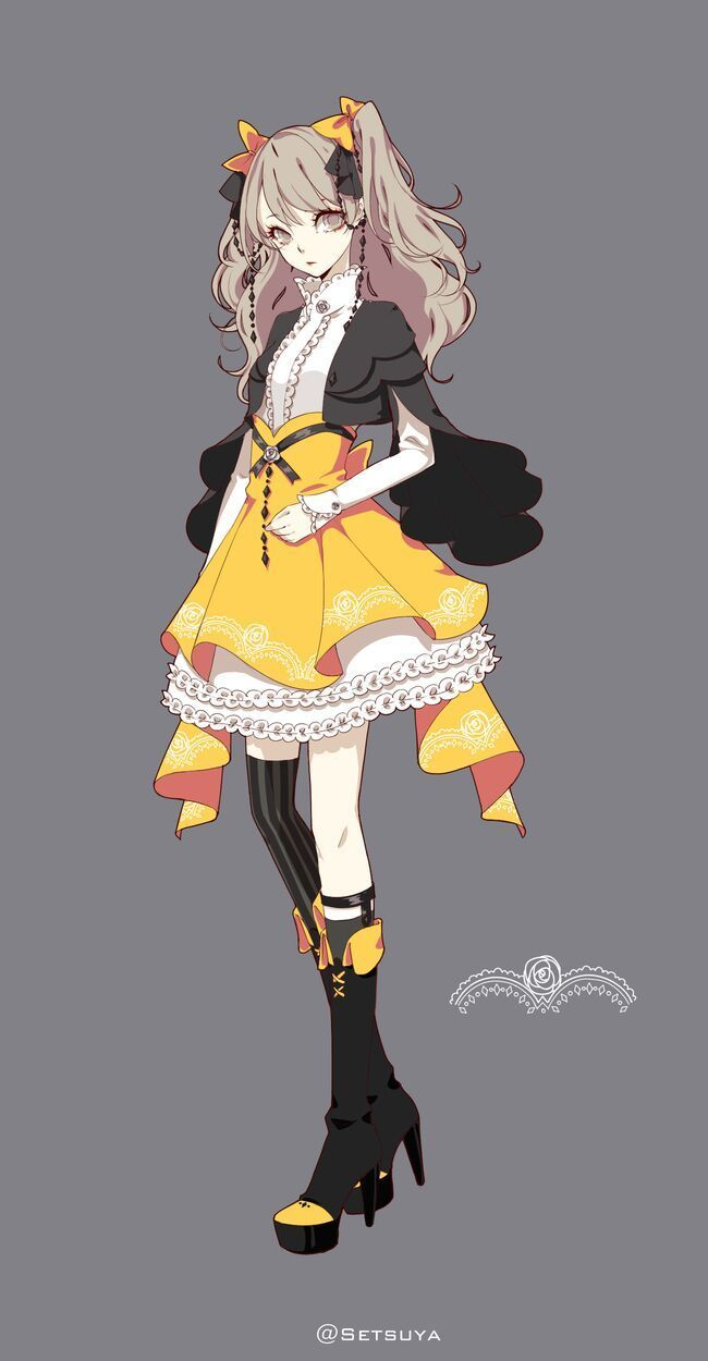 Good Character Design Anime : Ideas about anime outfits on pinterest girls