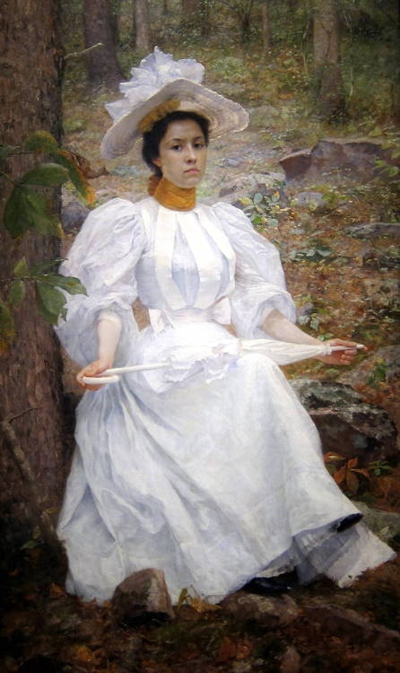women in white | Tumblr1890, Hunters Colstonjpg, Colston 1896, Art, Sophie Hunters, Filesophi Hunters, Robinson Leigh, Portraits, Williams Robinson
