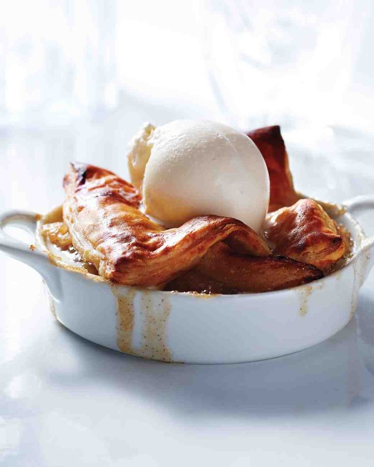 Apple-Bourbon Potpies