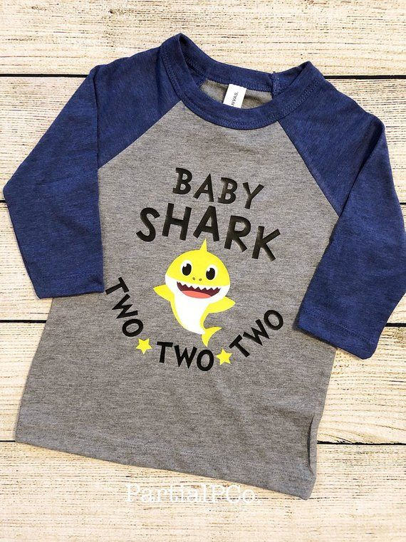 Second Birthday Shirt Birthday Shark Shirt Second Birthday Shark Shirt Baby Shark Shirt Shark Shirt