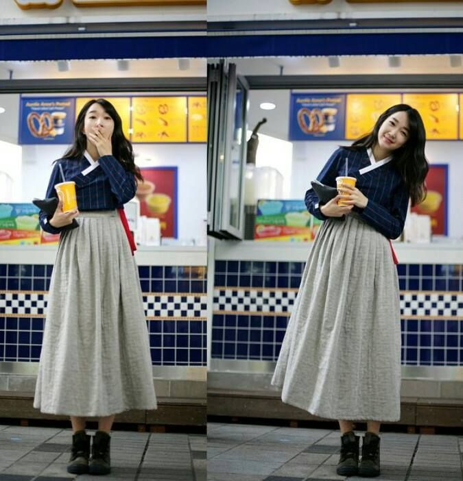 Hanbok, Casual, Korean Traditional Dress