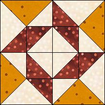Block of Day for November 02, 2016 - Whirling Star-strip-piecing The pattern may be downloaded until:Tueday, November 29, 2016.