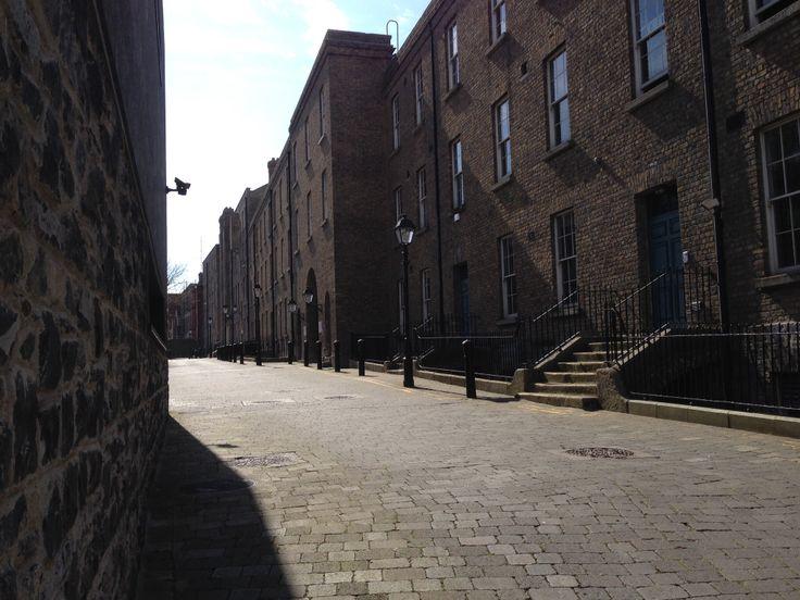 Untouched Georgian St, Dublin (Government Buildings)