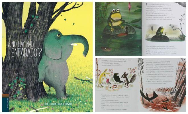 """Libro infantil gestionar rabietas: """"¿no hay nadie enfadado?"""""""