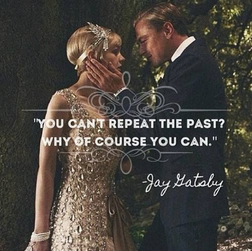 The Great Gatsby...good movie good movie.