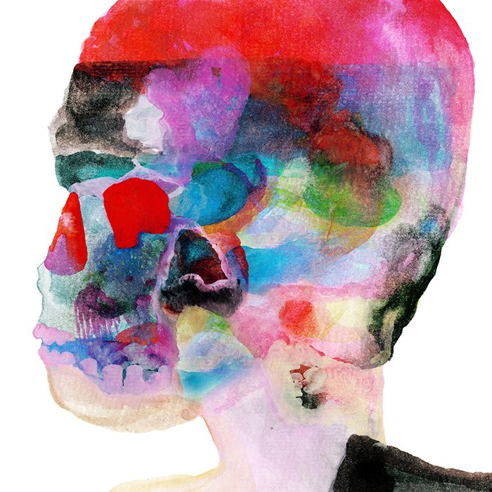 Love this art for Spoon's new album, Hot Thoughts. Wish I knew who the artist was to give credit!