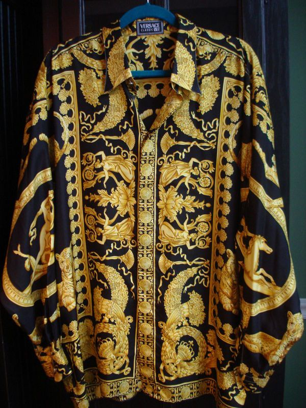 26 Best Versace Inspired Images On Pinterest: 26 Best Images About Silk Shirts On Pinterest