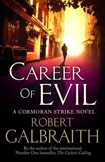 Career of Evil by Robert Galbraith. Check out the third book in the Cormoran Strike series by J.K. Rowling's crime-writing alter-ego