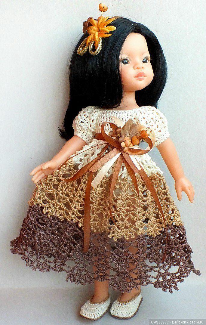 """Платье """" Шоколадный микс """" для паолочек . При покупке двух нарядов доставка в подарок !!! / Одежда для кукол / Шопик. Продать купить куклу / Бэйбики. Куклы фото. Одежда для кукол"""