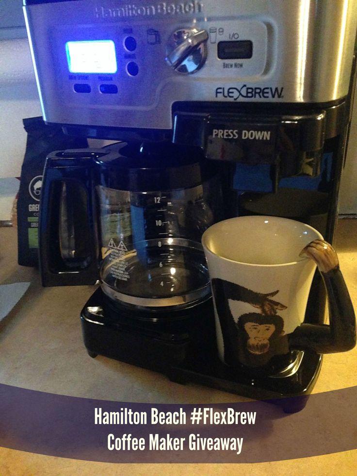 Hamilton Beach #FlexBrew Coffee Maker & Giveaway!