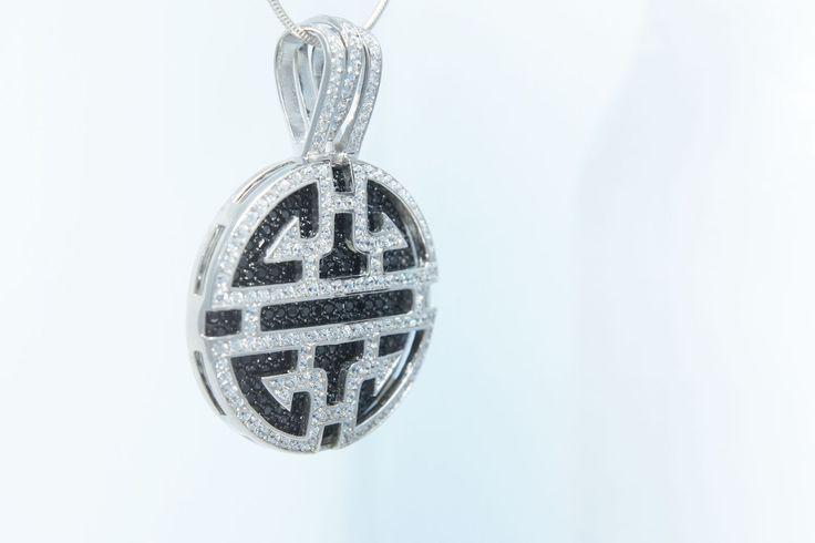 3teiliger Anhänger - perfekt zu kombinieren, echt Silber mit kleinen Zirkoniasteinen