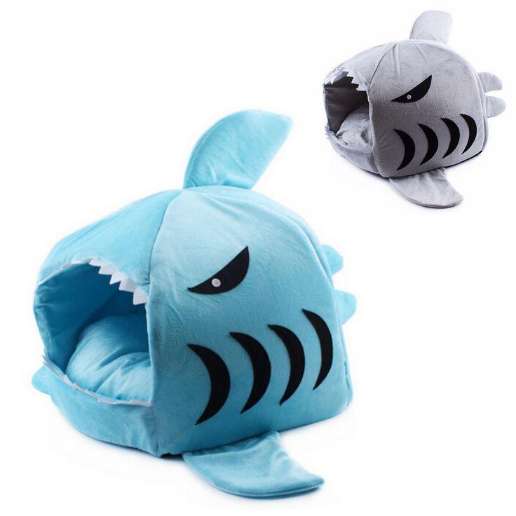gattosa cuccia a forma di squalo per gatti   www.gattosi.com
