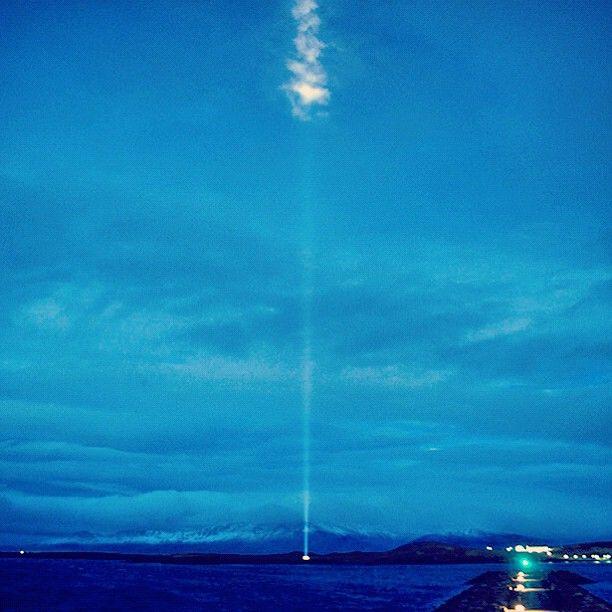 Light ray...