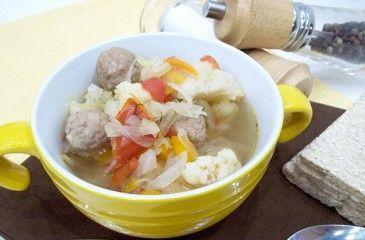 Суп с капустой - рецепты с фото. Как приготовить вкусный суп из брокколи, цветной или квашенной капусты