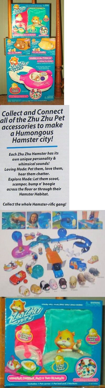 Zhu Zhu Pets 171529: Zhu Zhu Pets Hamster House Original Set Mint New Patches Squiggles Pipsqueak Nib -> BUY IT NOW ONLY: $249 on eBay!
