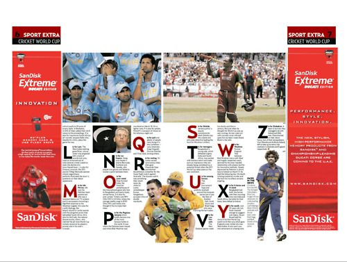 SanDisk Extreme, editorial advertising, Dubai publication