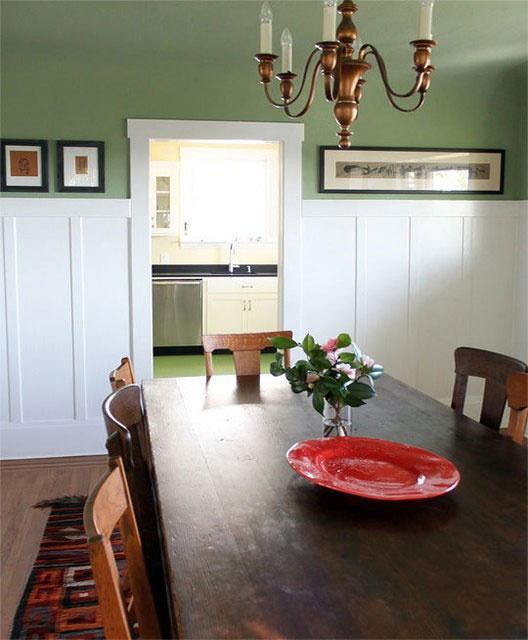 Kitchen Dining Paint Colors: 12 Best Faux Wainscoting - DIY Images On Pinterest