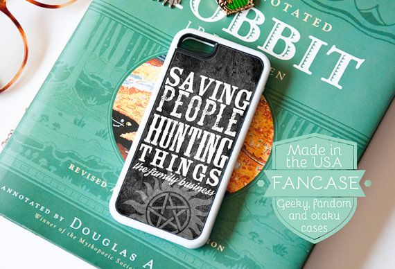 Supernatural iPhone Case Supernatural iPhone 6 Case Supernatural iPhone 5 Case iPhone 5s iPhone 5C Case Sam Dean Winchester