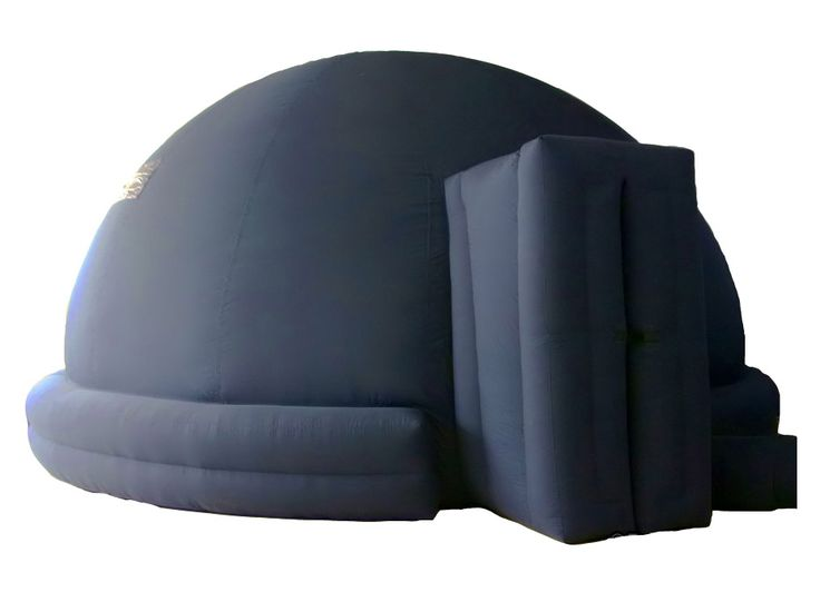 <p> 	EMERALD™ Inflatable 5-Meter Portable Dome. Estimated seating capacity : 25 adults or 40 young children. Designed for Digital Projection, using the EMERALD™ planetarium projectors. Domes are dark blue color outside and ligh...</p>