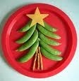 Holiday food art! Kids will love to make this in the holiday time!