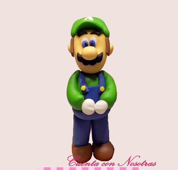 Modelado Luigi Luigi fondant