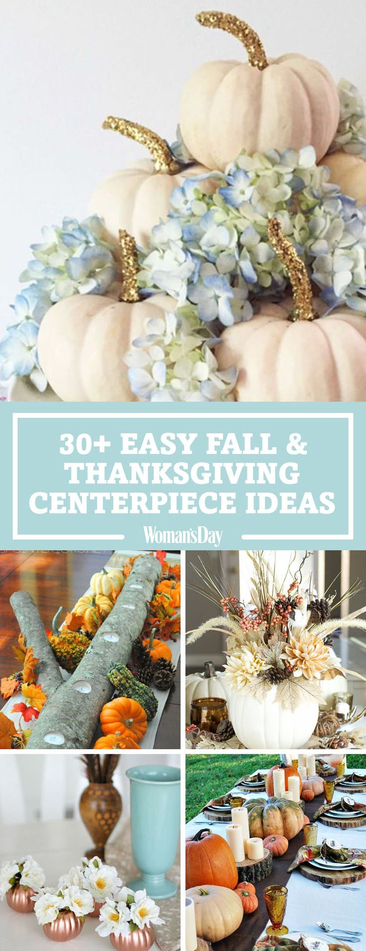 946 best thanksgiving and fall images on pinterest Thanksgiving table decorations homemade