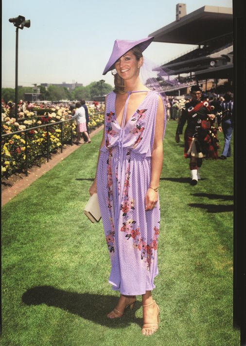 1979 - Pamela Hayes winner of Flemington Myer Girl of the Day