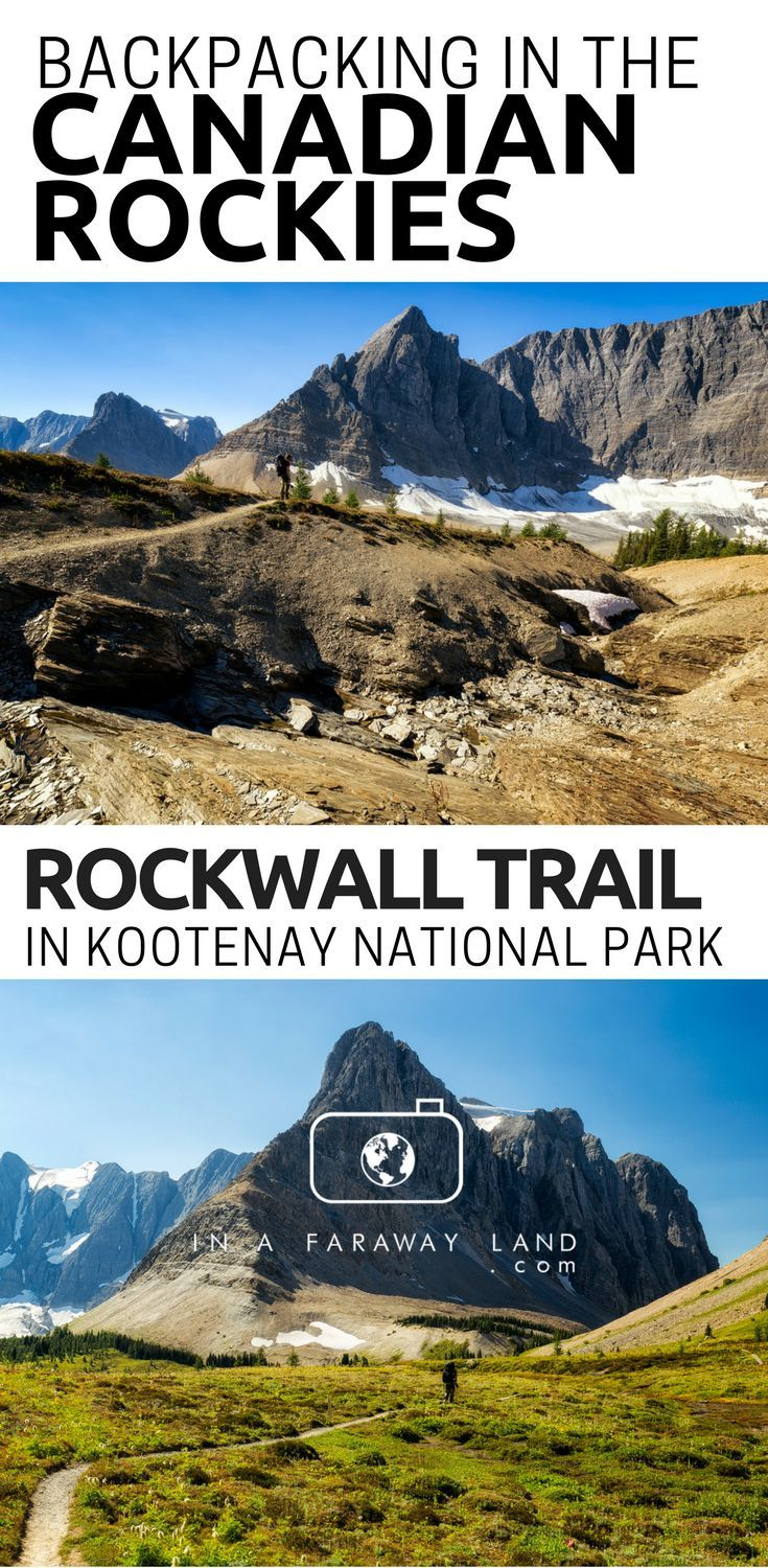 Everything you need to know about hiking the Rockwall in Kootenay National Park in the Canadian Rocky Mountains. Entails information about campsites bookings and transport between the trailheads. #Hiking #Camping #Backpacking #Canada