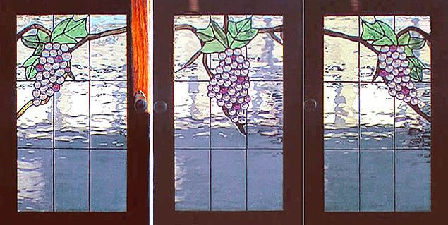 Stained Glass Grape Vine The Stained Glass Studio