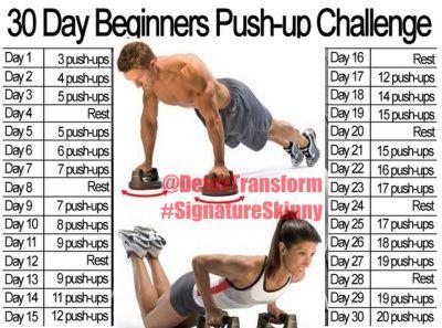 30 day pushup challenge