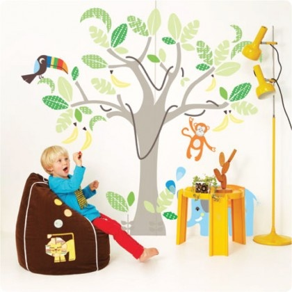Cocoon Couture Jungle Land from The Wall Sticker Company.