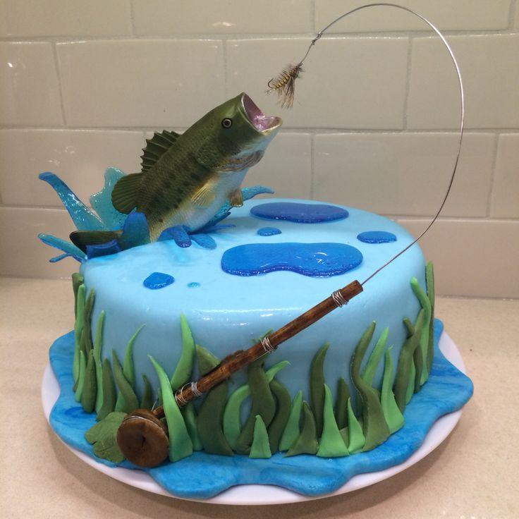 Fine Fly Fishing Wedding Cake Topper Funny Birthday Cards Online Eattedamsfinfo