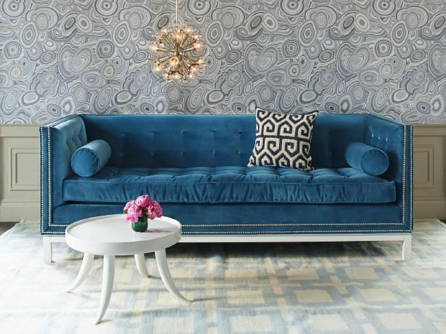 With a multi-million dollar empire that has grown in two decades from pottery to include furniture, lighting, rugs, manchester, tabletop, bathroom accessories and every imaginable type of homeware, interior designer Jonathan Adler has lots to offer. #home #house #decorate #interiordesign