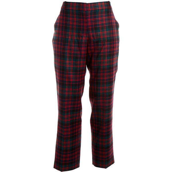 Amazing Life Is Good Red Green Plaid Classic Sleep Pants Women39s Size 2XL