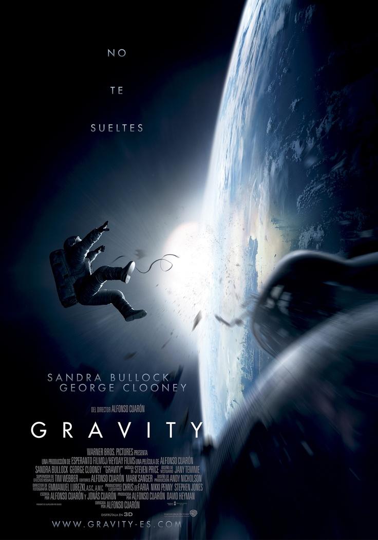 Póster teaser en español de #Gravity