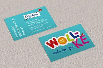 Visitenkarten Woll-KE