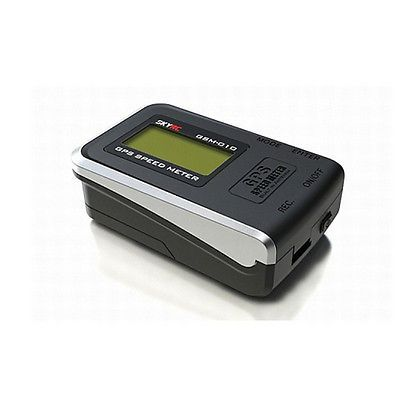 SkyRC GSM-010 GPS Speedometer  Altimeter For RC Car Plane Quad USA  Speed Meter