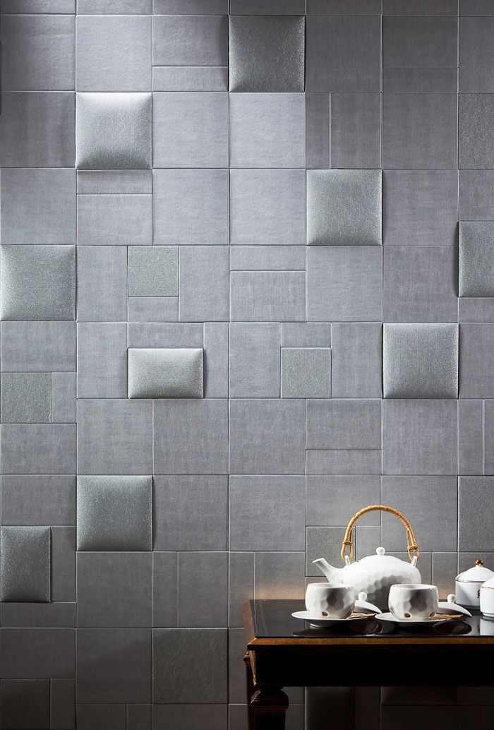 Dare NappaTile™ Faux Leather Wall Tiles by Concertex