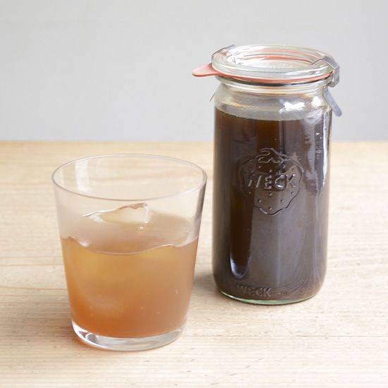 black sugar ginger syrup