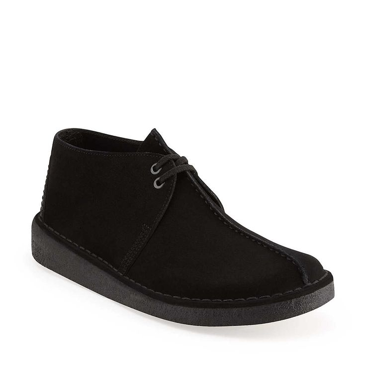 Desert Trek Men In Black Suede Mens Shoes From Clarks現在就