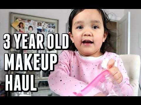 3 YEAR OLD'S MAKEUP HAUL! - November 30, 2017 -  ItsJudysLife Vlogs