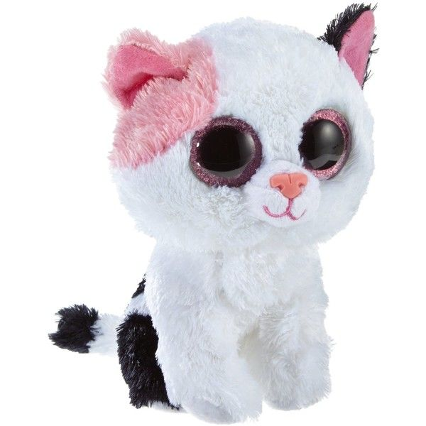 Ty Beanie Boos Muffin Cat Plush ($4.40) ❤ liked on Polyvore featuring plush and plushies
