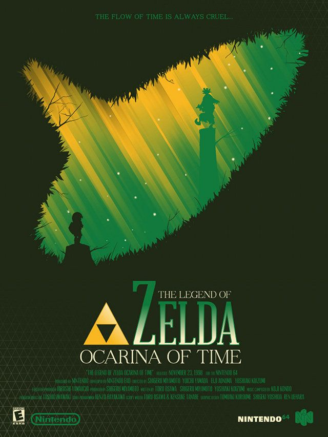 Fantastically Designed Video Game Poster Art - Zelda, Metal Gear, andMore - News - GeekTyrant