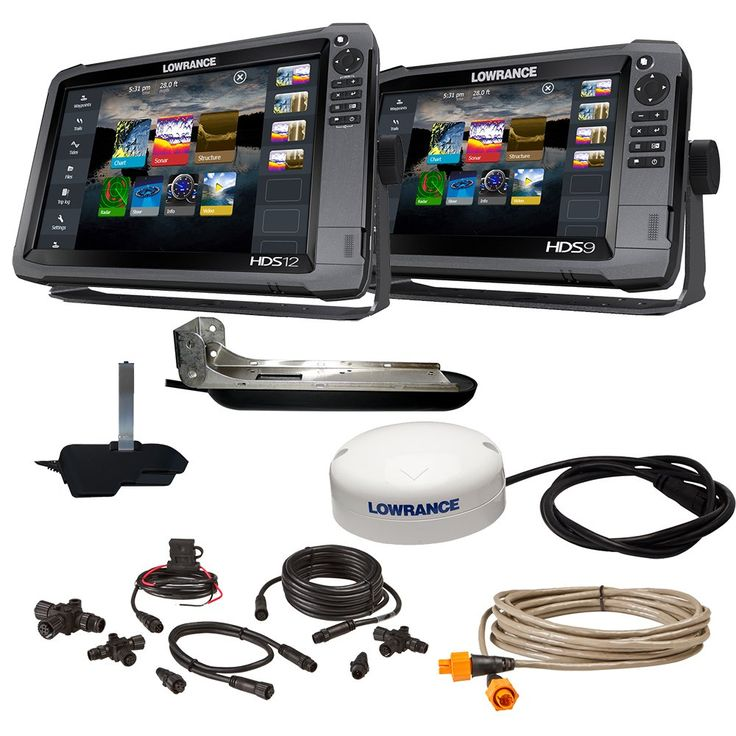 "LOWRANCE HDS12 GEN3 INSIGHT/HDS9 ""BOAT IN A BOX"" 000"