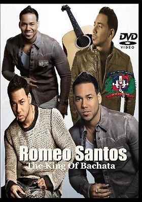 Romeo Santos The King Of Bachata DVD 45 Music Videos - Aventura Marc Anthony