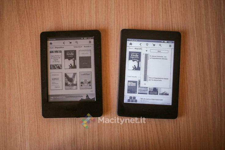 Recensione Kindle vs. Kindle Paperwhite in prova i due e-reader di Amazon